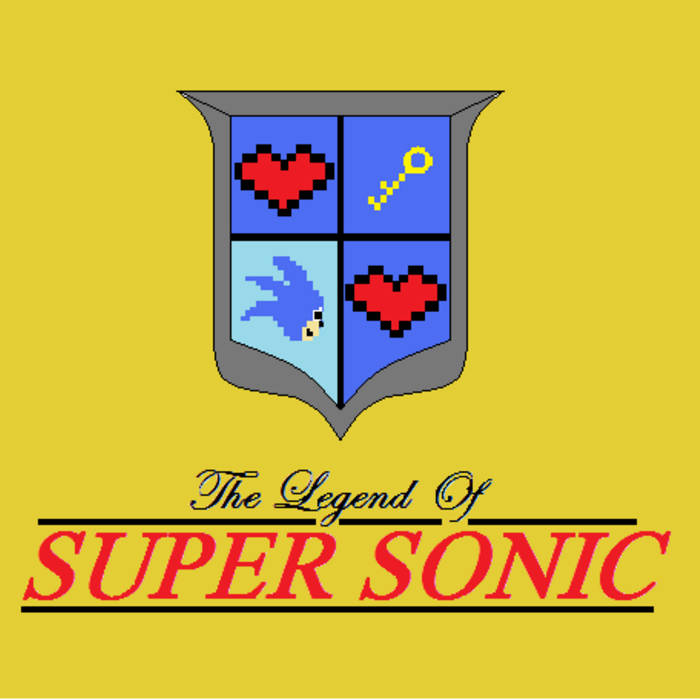 The Legend of Super Sonic cover art