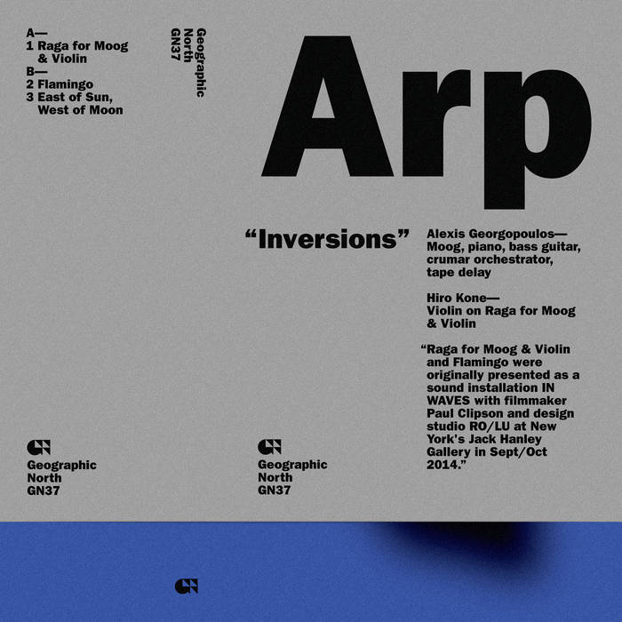 Inversions cover art