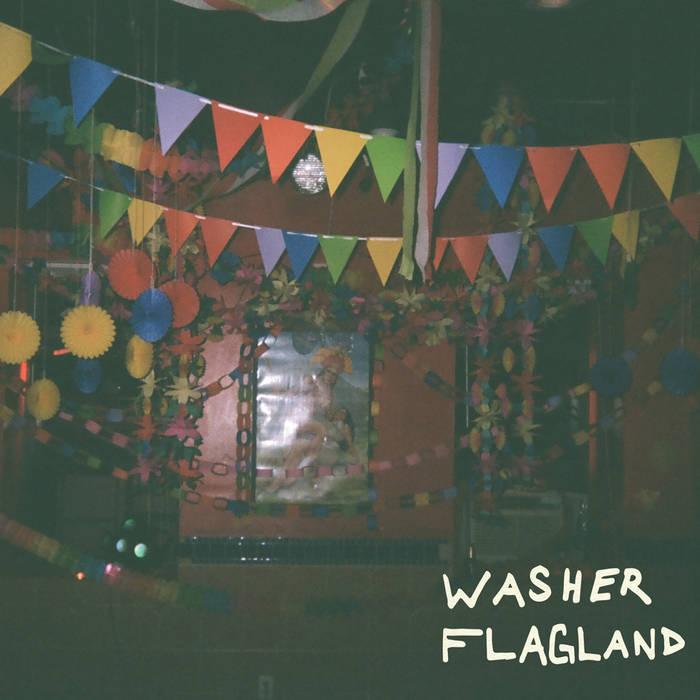 """Washer/Flagland Split 7"""" cover art"""