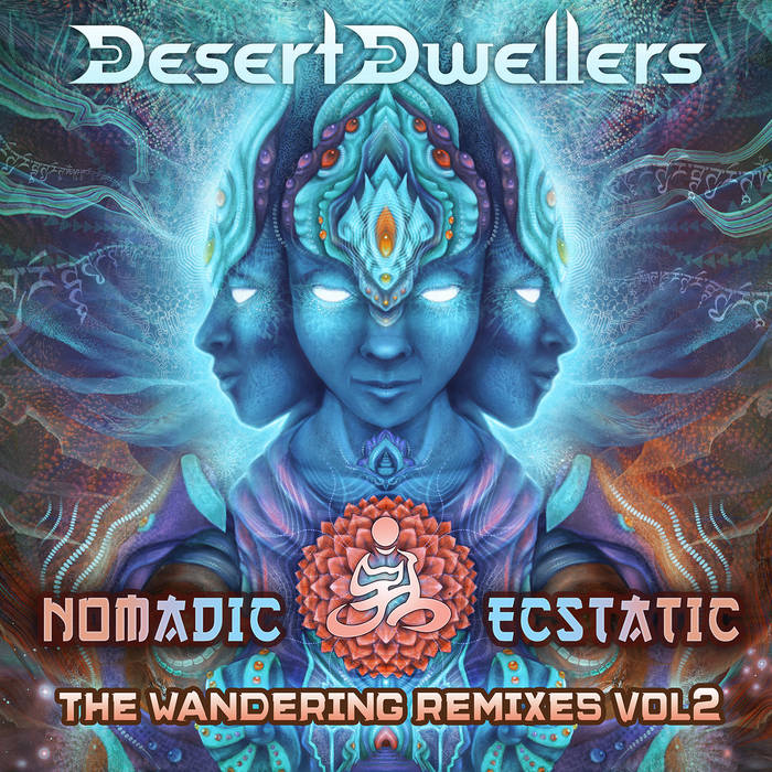 Nomadic Ecstatic: The Wandering Remixes Vol. 2 cover art