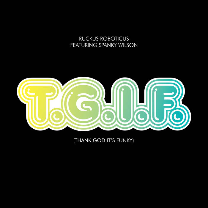 "T.G.I.F. (Thank God It's Funky) Digi-12"" cover art"