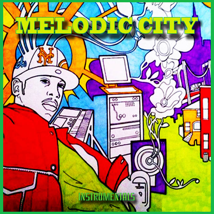 Melodic City: Through My Instrument cover art