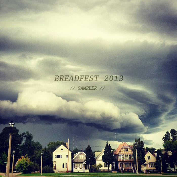BREADFEST 2013 SAMPLER cover art