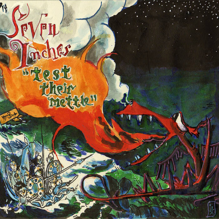 The Seven Inches Test Their Mettle cover art