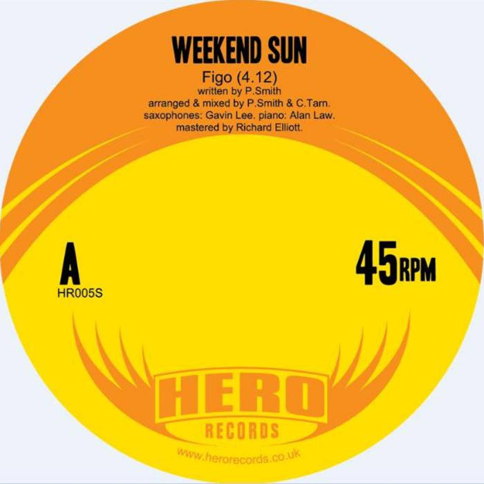 Weekend Sun 'Figo' (HR005S) cover art