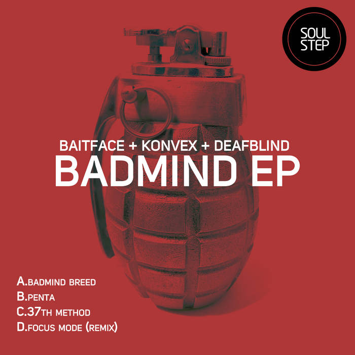 Badmind EP (STEP032) cover art