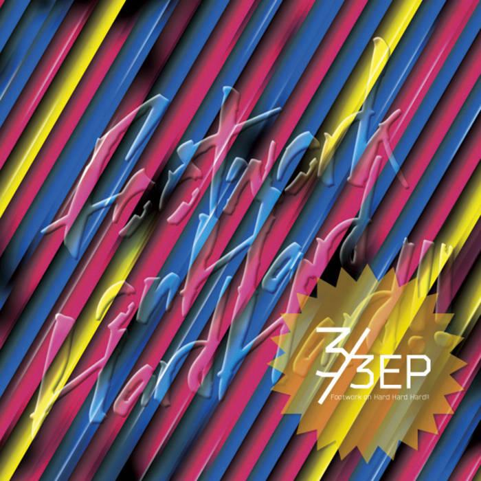 Footwork on Hard Hard Hard!! 3/3EP cover art