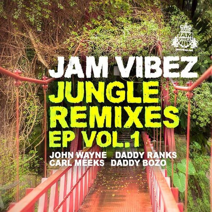 Jungle Remixes EP vol.1 cover art