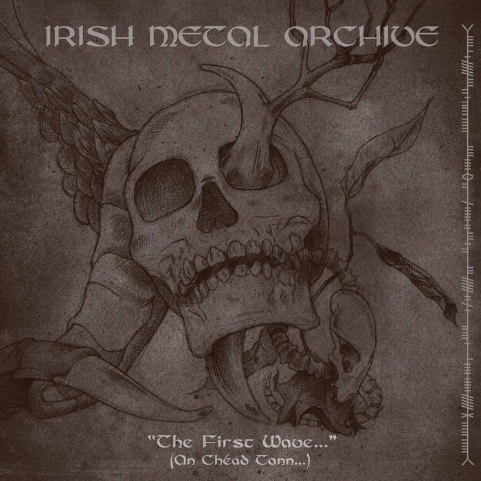 IRISH METAL ARCHIVE - THE FIRST WAVE... (2013) cover art