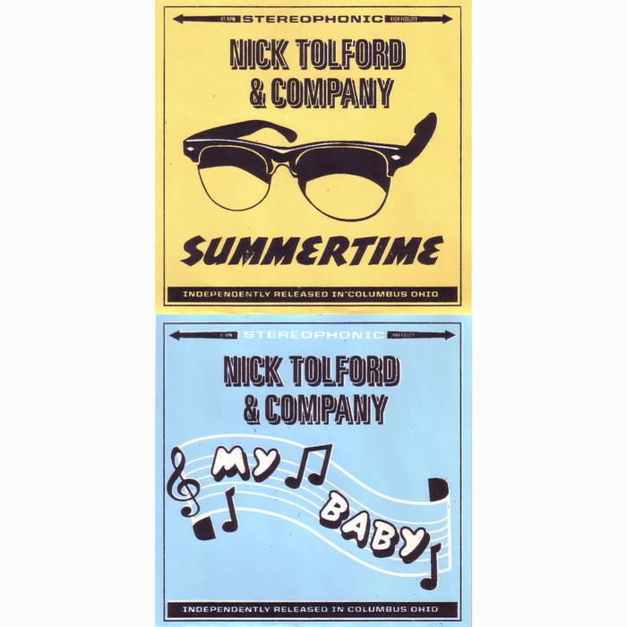 """Summertime 7"""" (""""Summertime"""" b/w """"My Baby"""") cover art"""