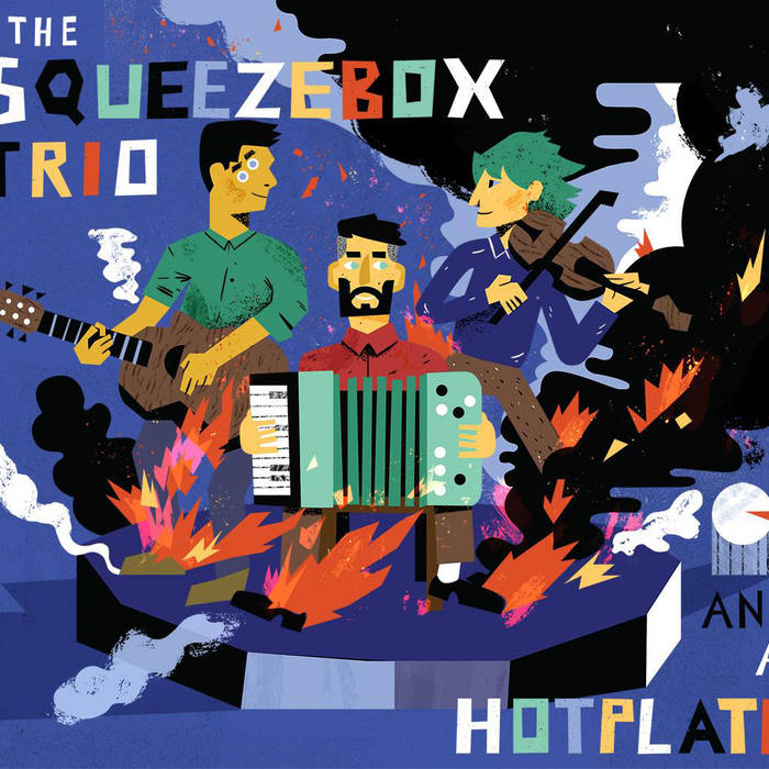 And A Hotplate cover art