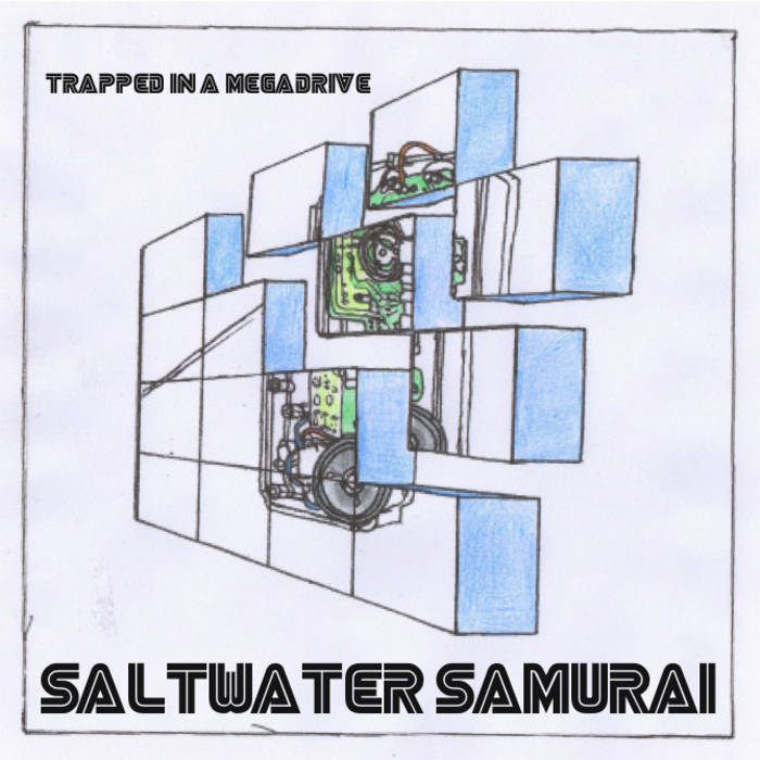 Trapped In A Megadrive E.P. cover art