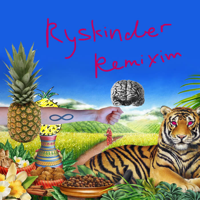 RYSKINDER REMIXIM רייסקינדר רמיקסים cover art