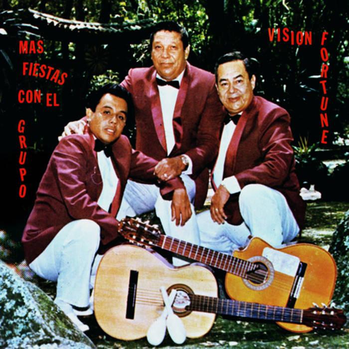 Mas Fiestas con el Grupo Vision Fortune cover art