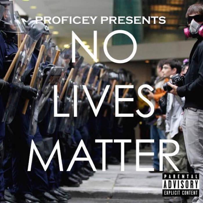 No Lives Matter cover art