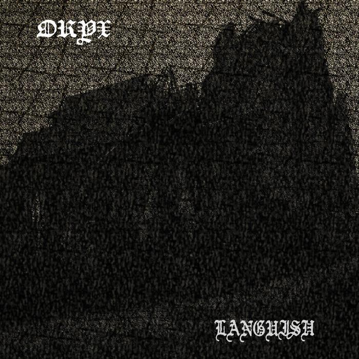 split LP w/ LANGUISH cover art