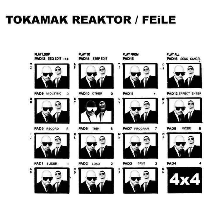 """TOKAMAK REAKTOR / FEILE  """"4 x 4"""" cover art"""
