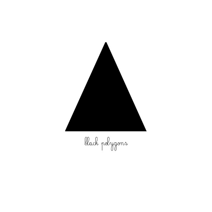 Black Polygons EP cover art