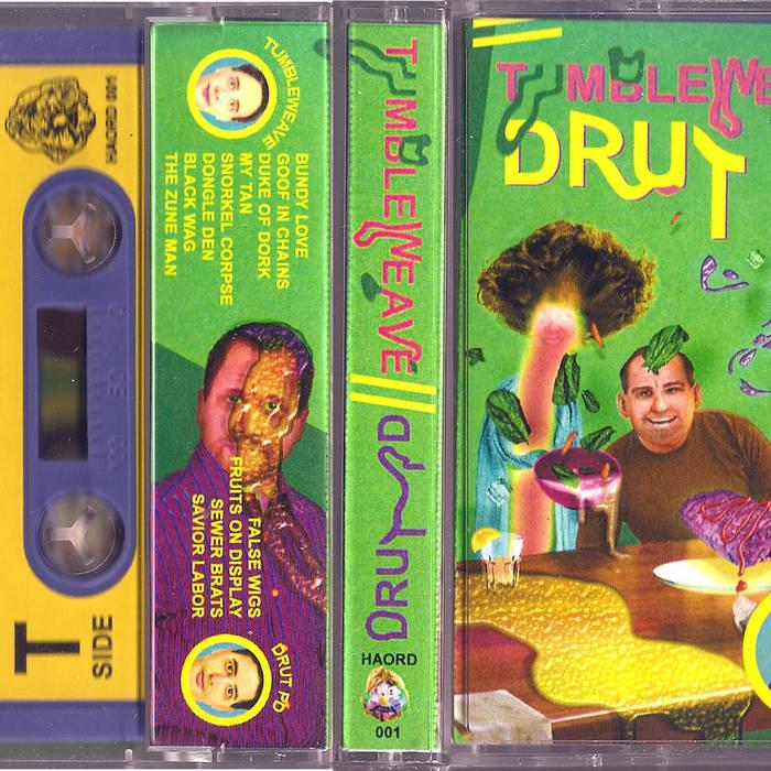 TUMBLEWEAVE/Drut PD Split Cassette cover art