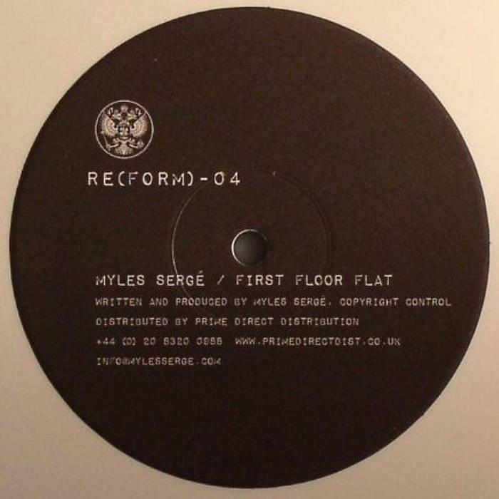 RE(FORM)-04D: Myles Sergé - First Floor Flat cover art