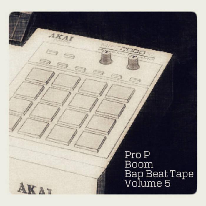 Boom Bap Beat Tape Volume 5 cover art