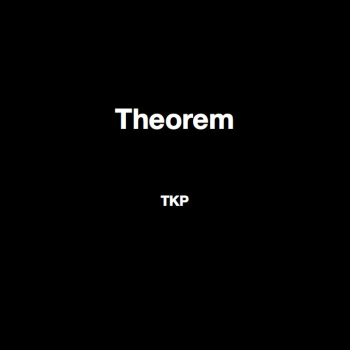Theorem - EP cover art