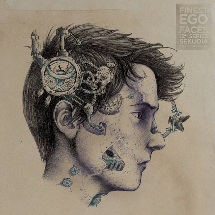 "Finest Ego | Faces 12"" Series Vol. 3 cover art"