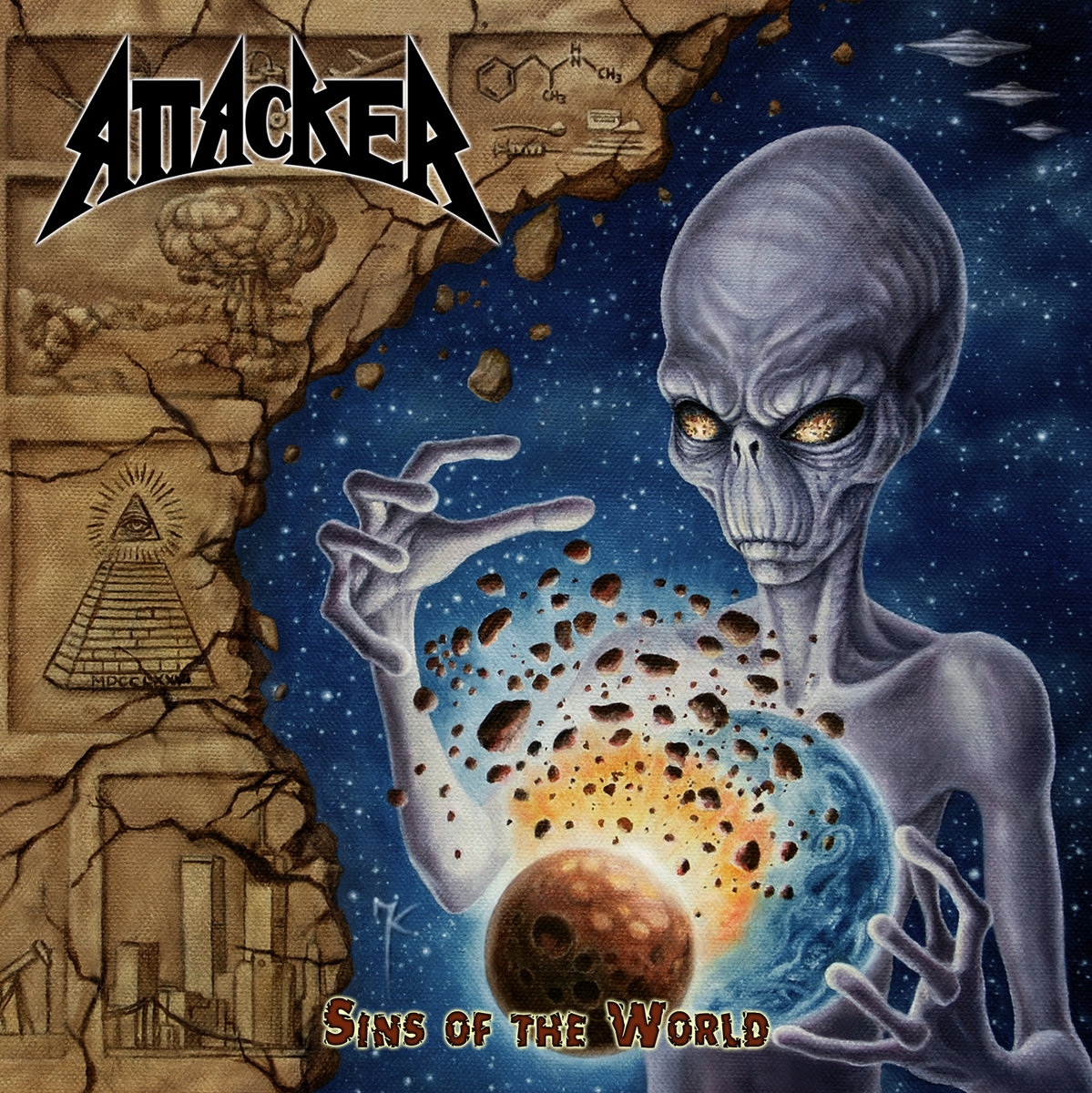 Attacker - Sins of the World | 2016 | Heavy Metal | MP3 320