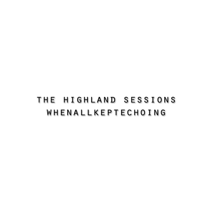 The Highland Sessions cover art