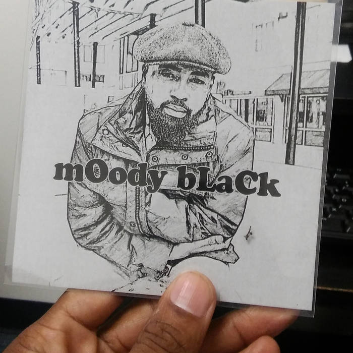 mOody bLaCk cover art