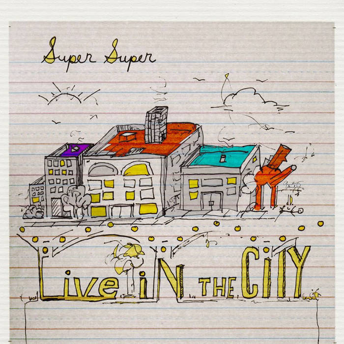 """Live in the City 7"""" cover art"""