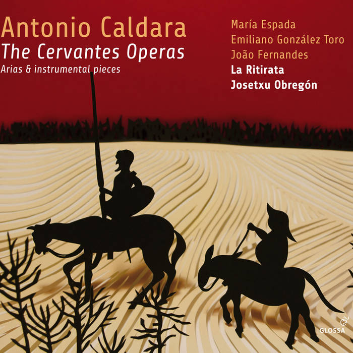Antonio Caldara. The Cervantes Operas cover art
