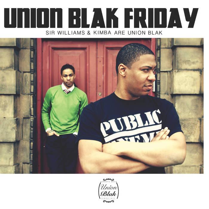 Union Blak Friday cover art