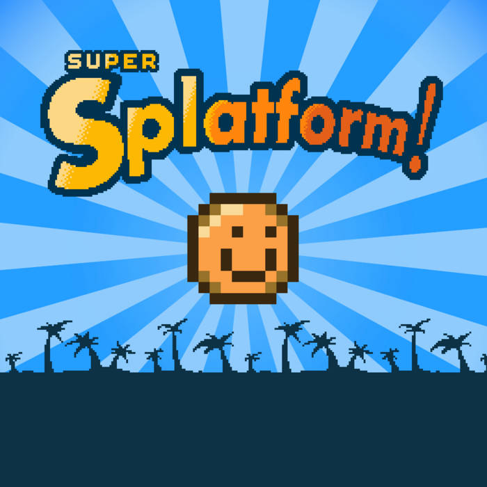 Super Splatform OST cover art