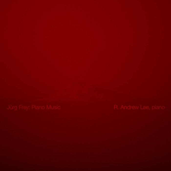 Jürg Frey: Piano Music cover art