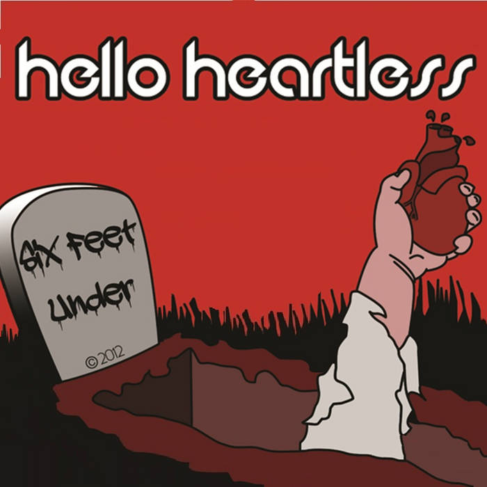 Six Feet Under EP 2012 cover art