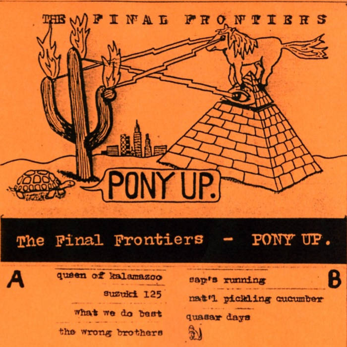 Pony Up. cover art