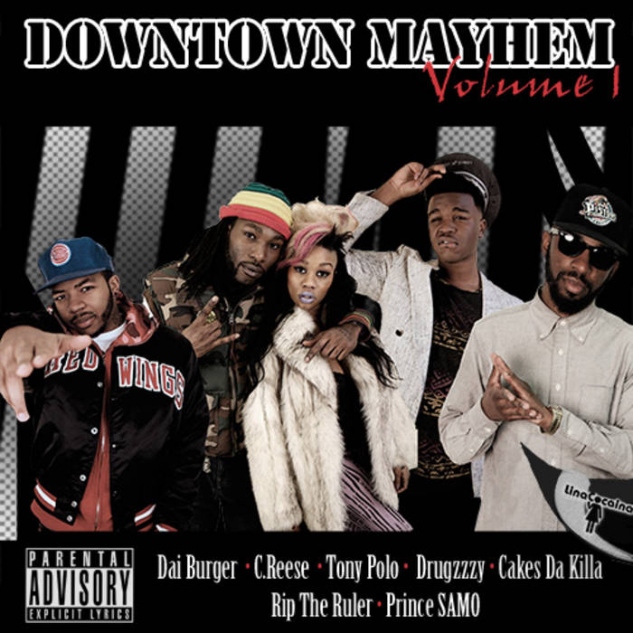 Downtown Mayhem Vol.1 cover art