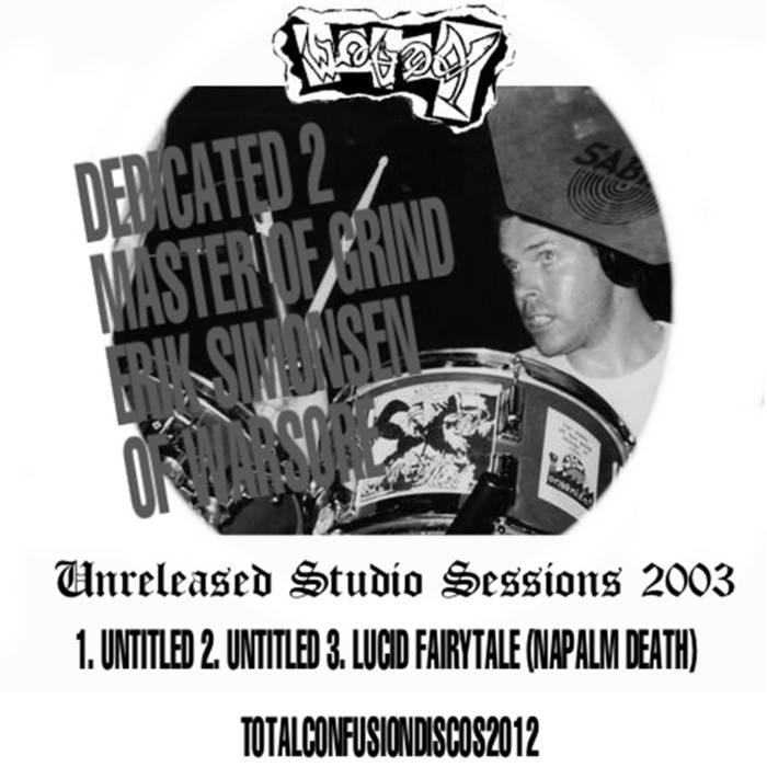 Unreleased Studio Sessions - 2003 cover art