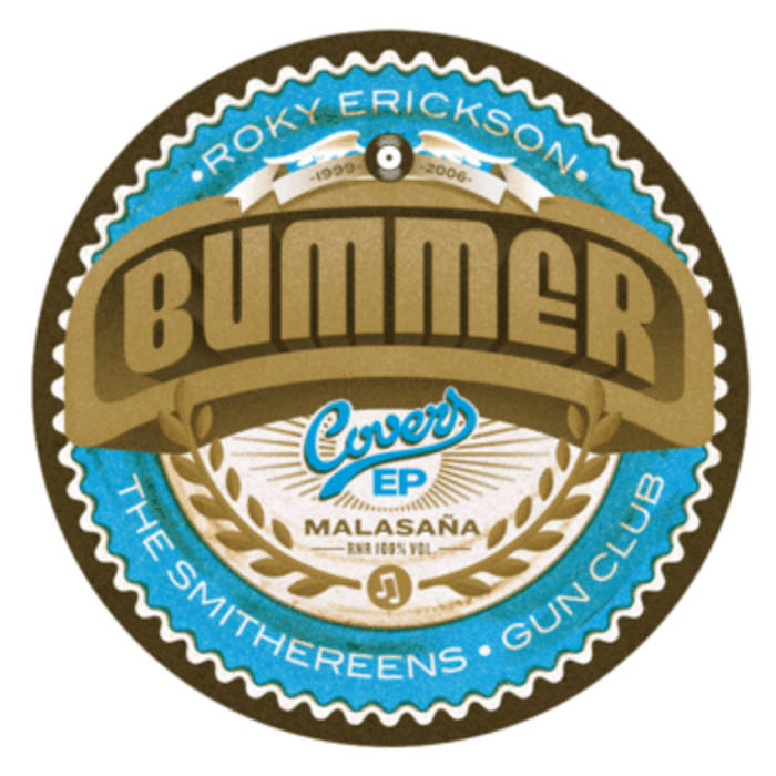 """BUMMER - """"Covers EP"""" cover art"""