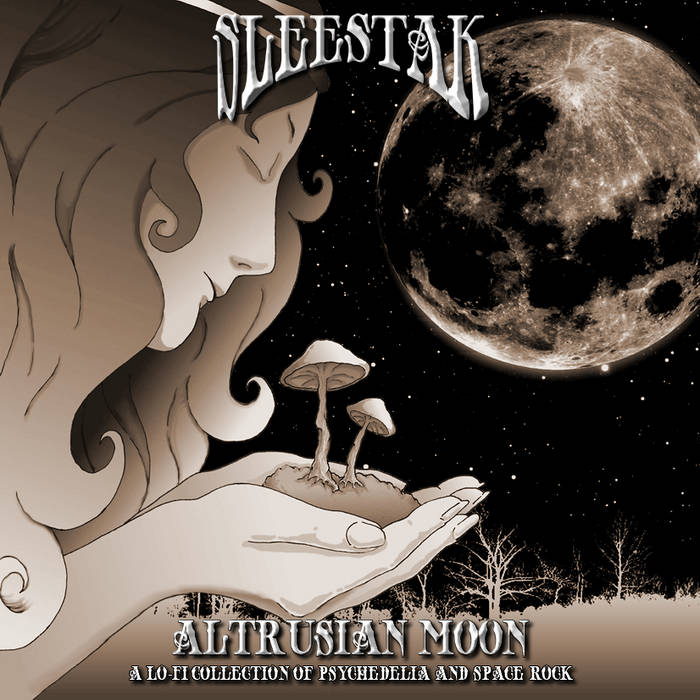 Altrusian Moon - A Lo-Fi Collection Of Psychedelia and Space Rock cover art