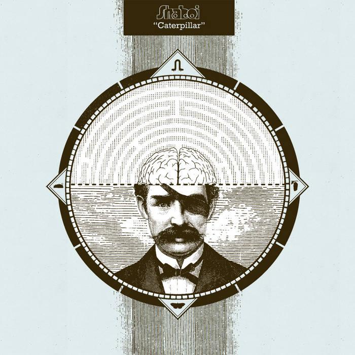 """Moustache Man 7"""" cover art"""