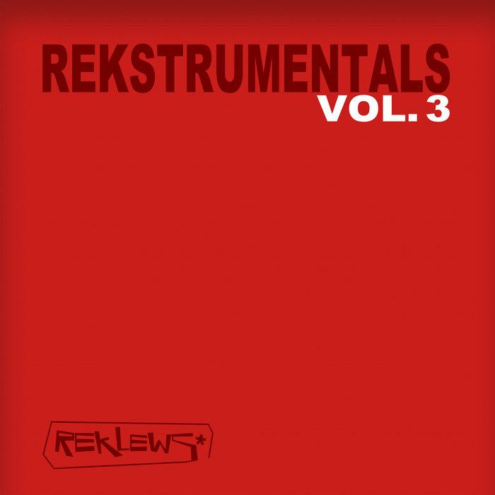 Rekstrumentals Vol.3 cover art