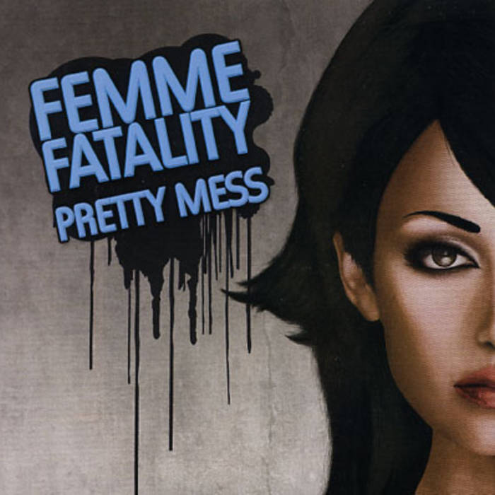 Pretty Mess seven inch recording cover art