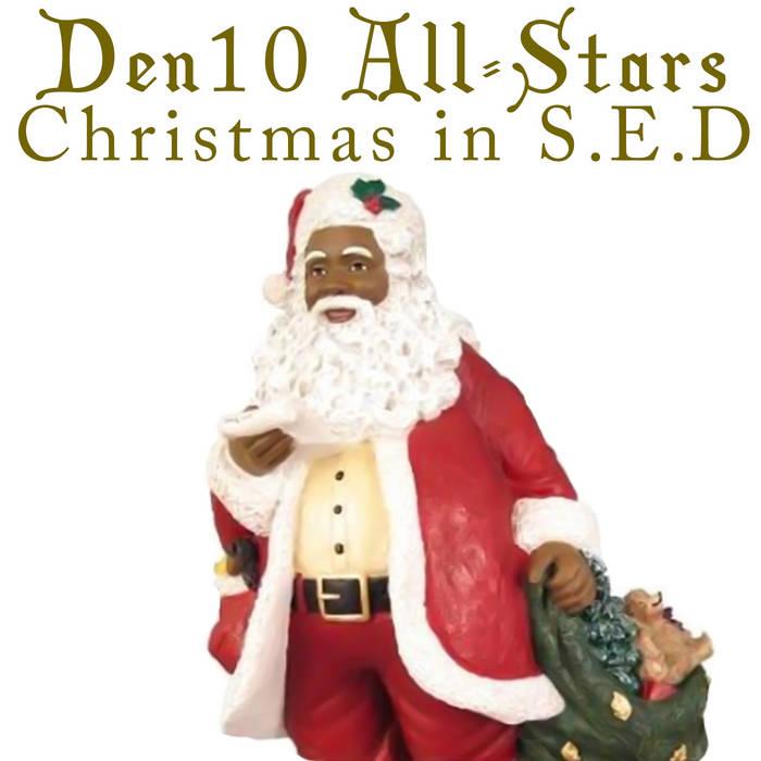 """""""Christmas in S.E.D."""" Den10 All-Stars cover art"""