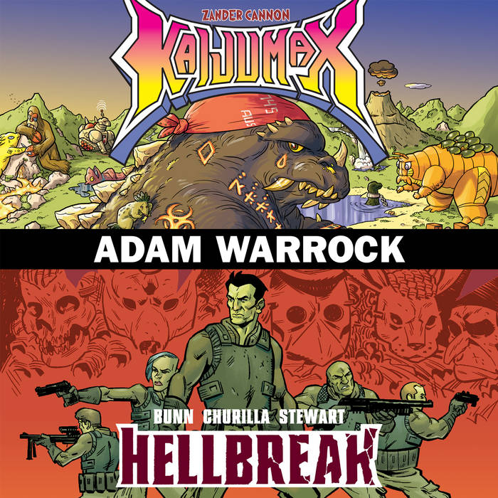 Oni Presents... Hellbreak/Kaijumax cover art