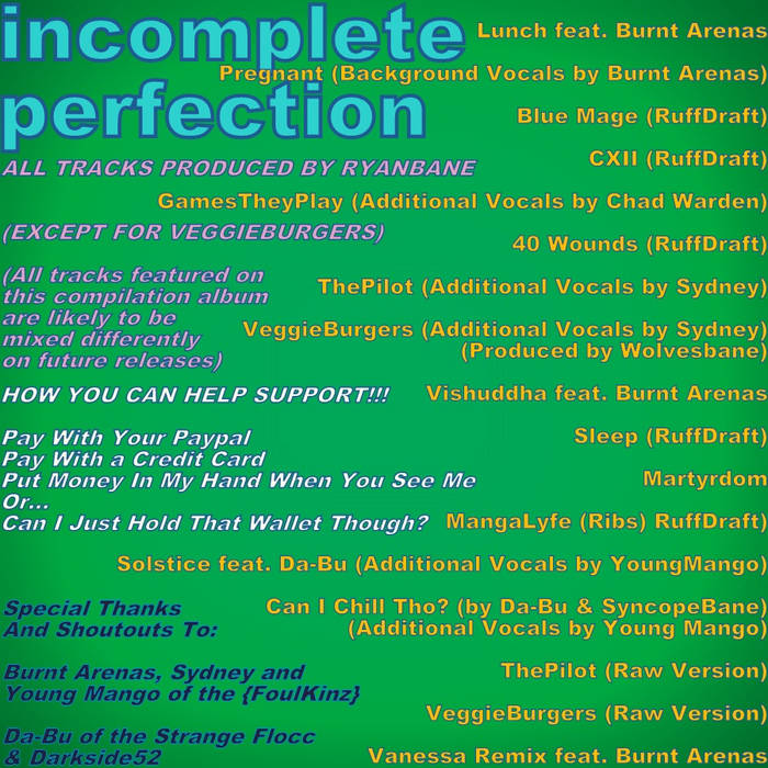 Incomplete Perfection cover art