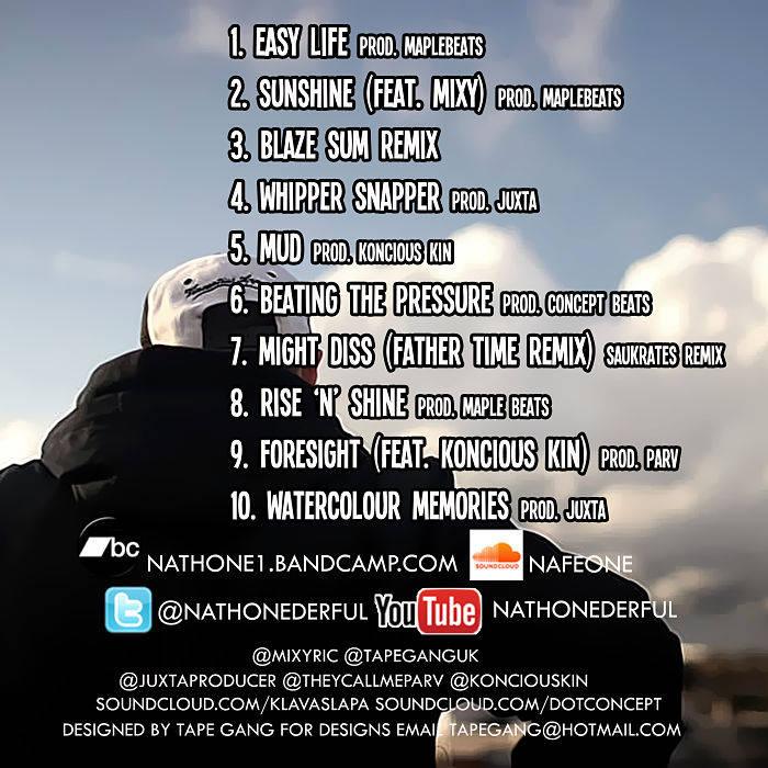 Nathone - The Mixtape cover art