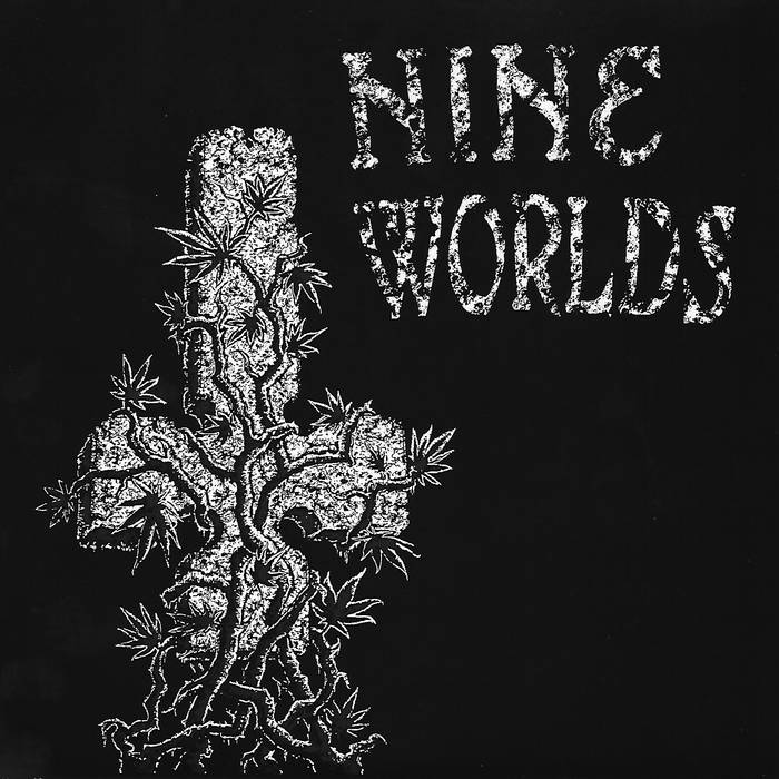 "Nine Worlds 7"" (rerelease) cover art"