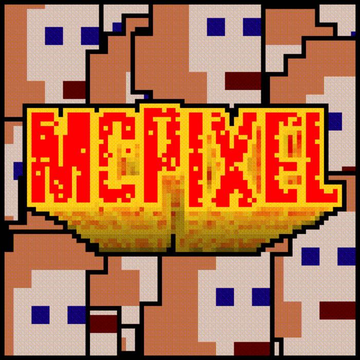 McPixel OST cover art